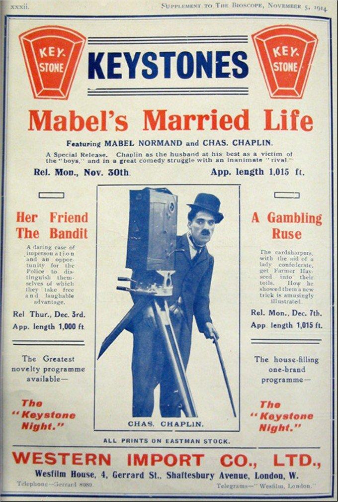 1914 Charlot et le mannequin