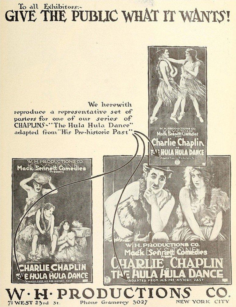 1914 Charlot nudiste