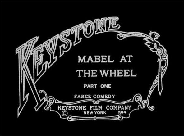 1914 Mabel au volant