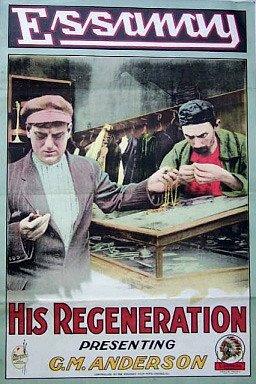 1915 His Regeneration poster