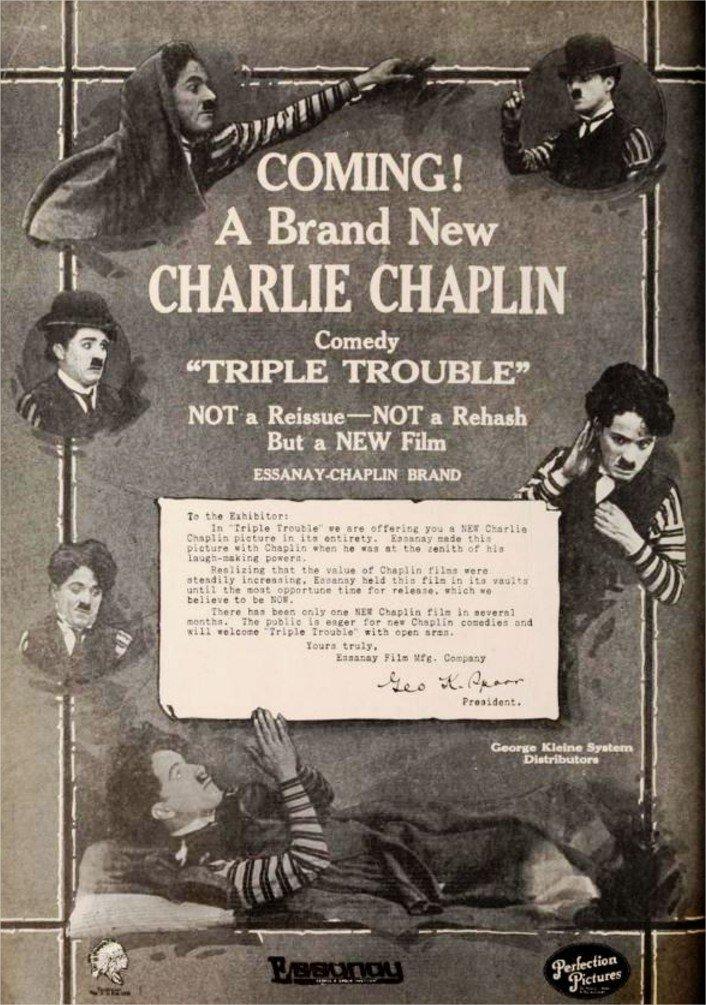 1915 Les Avatars de Charlot