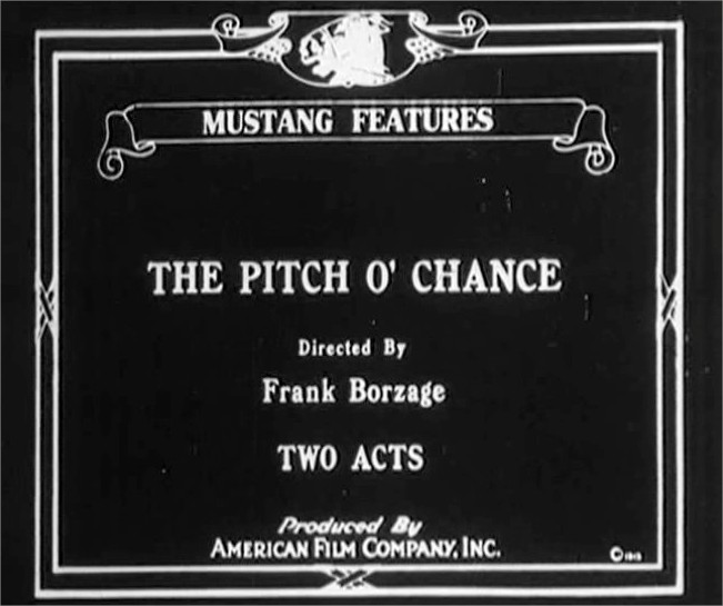 1915 The Pitch o' chance
