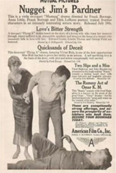 1916 Quicksand of deceit