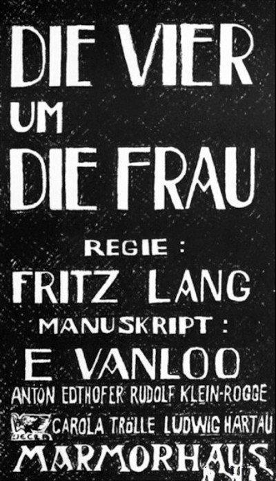 1921 (1) Die Vier um die Frau