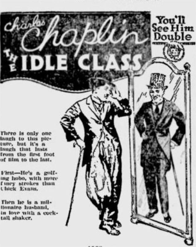 1921 Charlot et le masque de fer