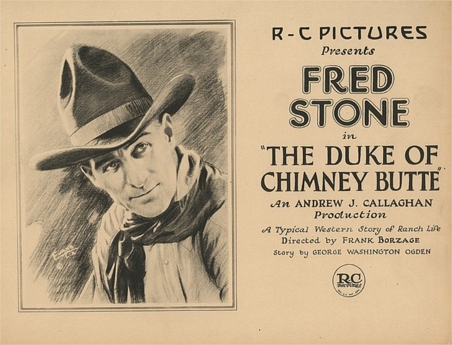 1921 The Duke of Chimney Butte