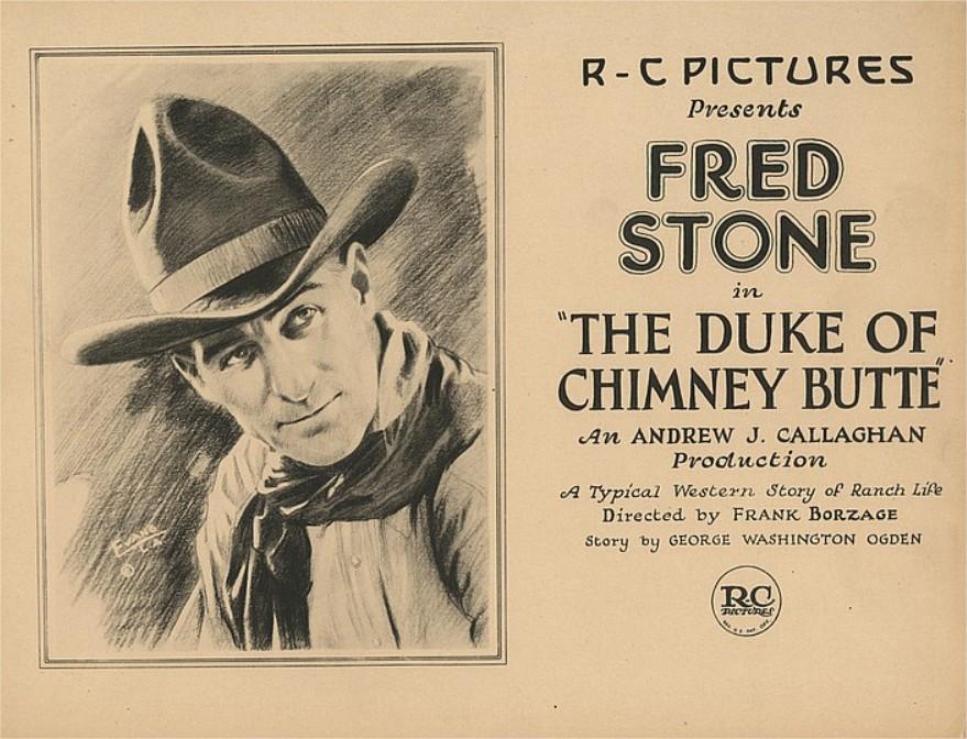 1921 The Duke of Chimney Butte