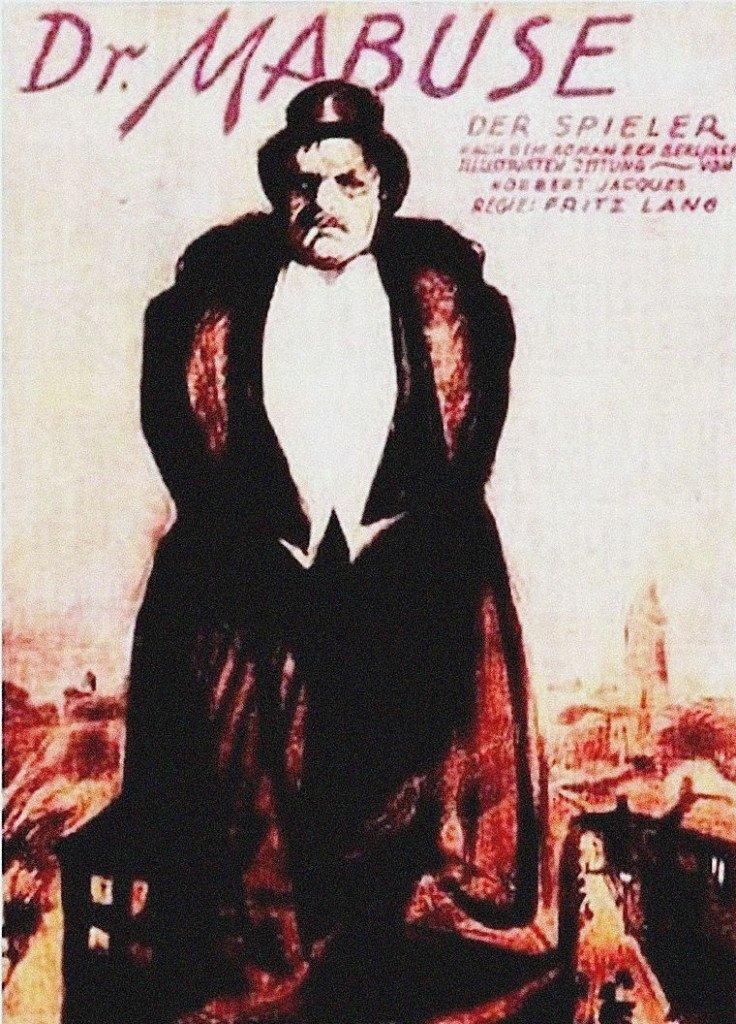 1922 Dr Mabuse der spieler