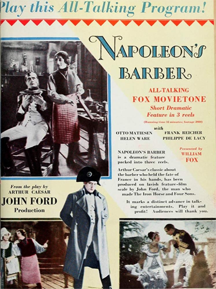 1928 Napoleon's Barber