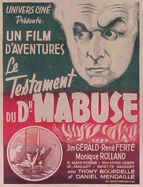 1933 Das Testament des Dr Mabuse