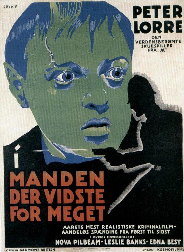 1934 L'Homme qui en savait trop