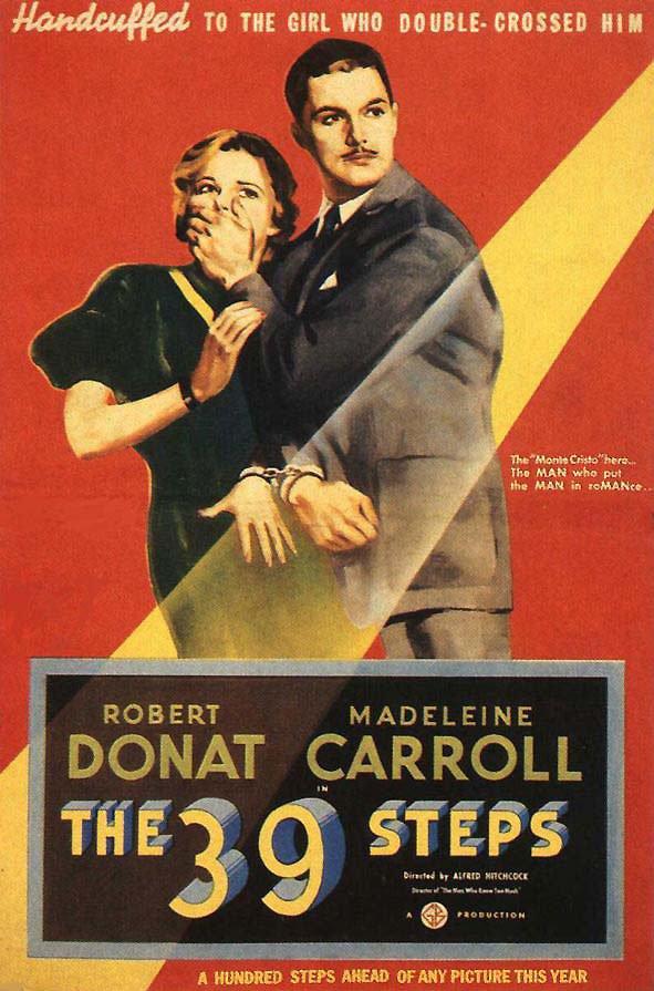 1935 Les 39 marches