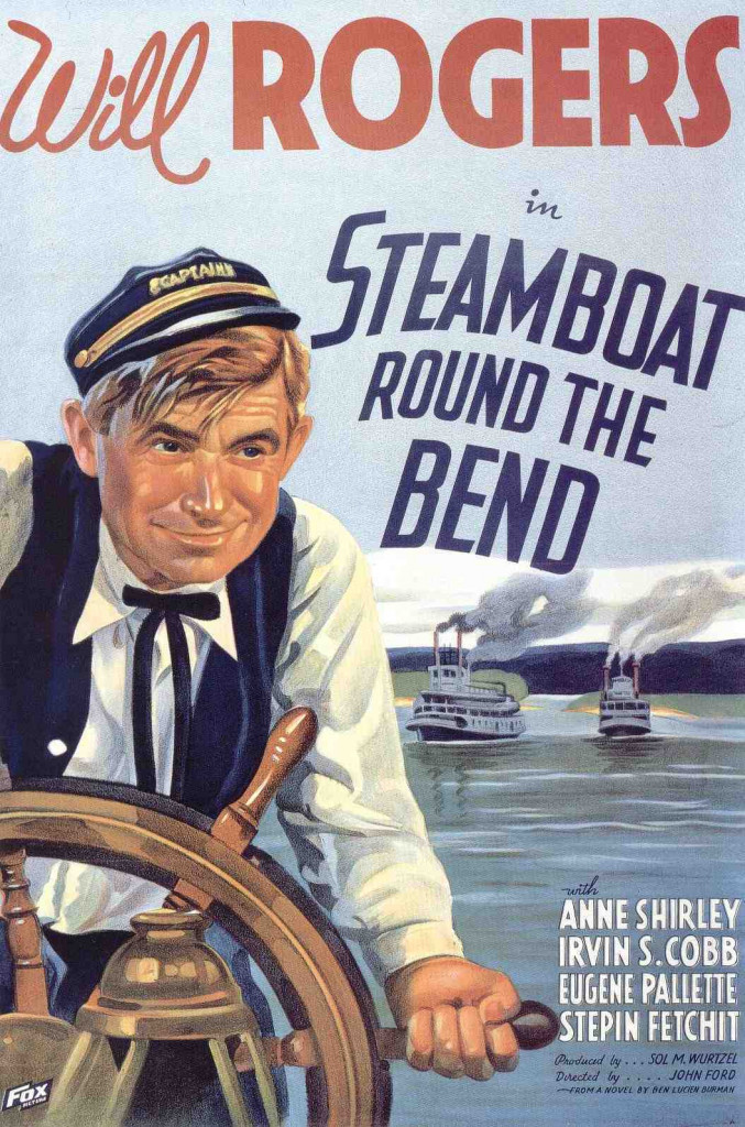 1935 Steamboat round the bend