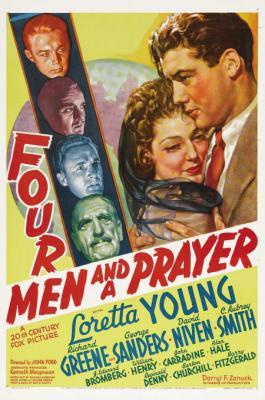 1938 Quatre hommes et une prière