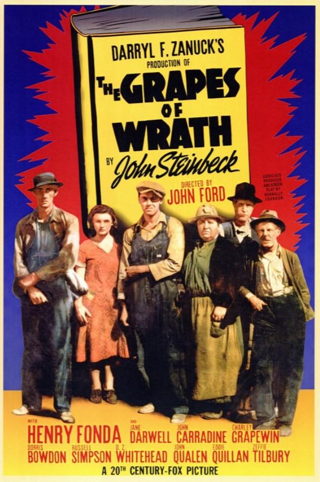 1940 Les Raisins de la colère