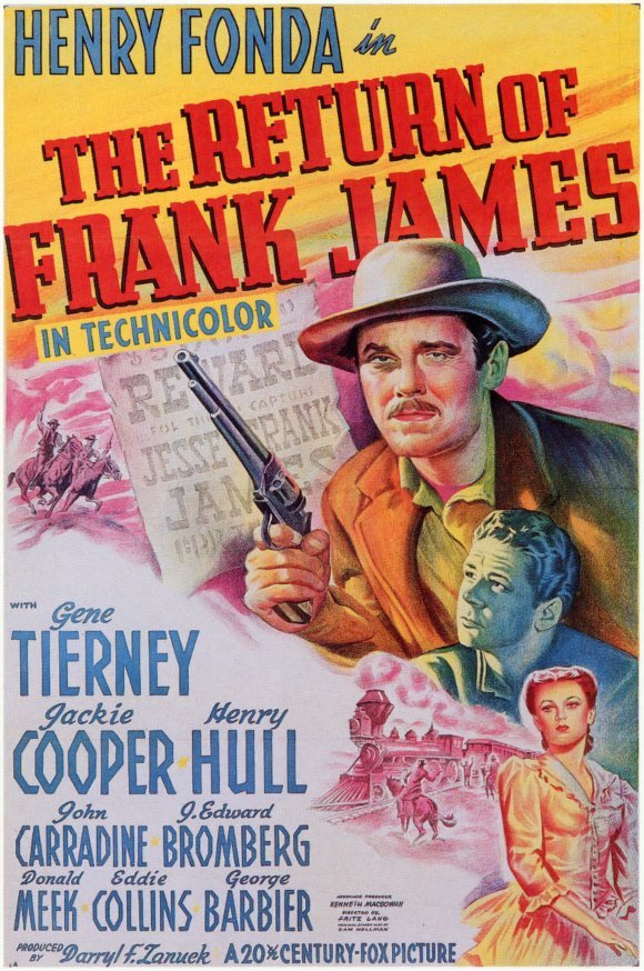1940 The return of frank james