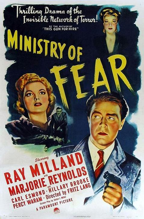1944 (1) Ministry of fear