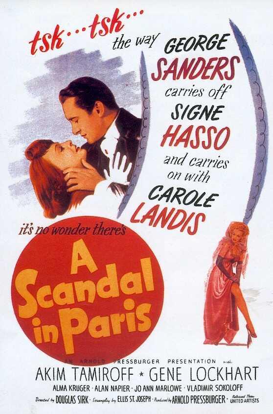 1946 Scandale à Paris