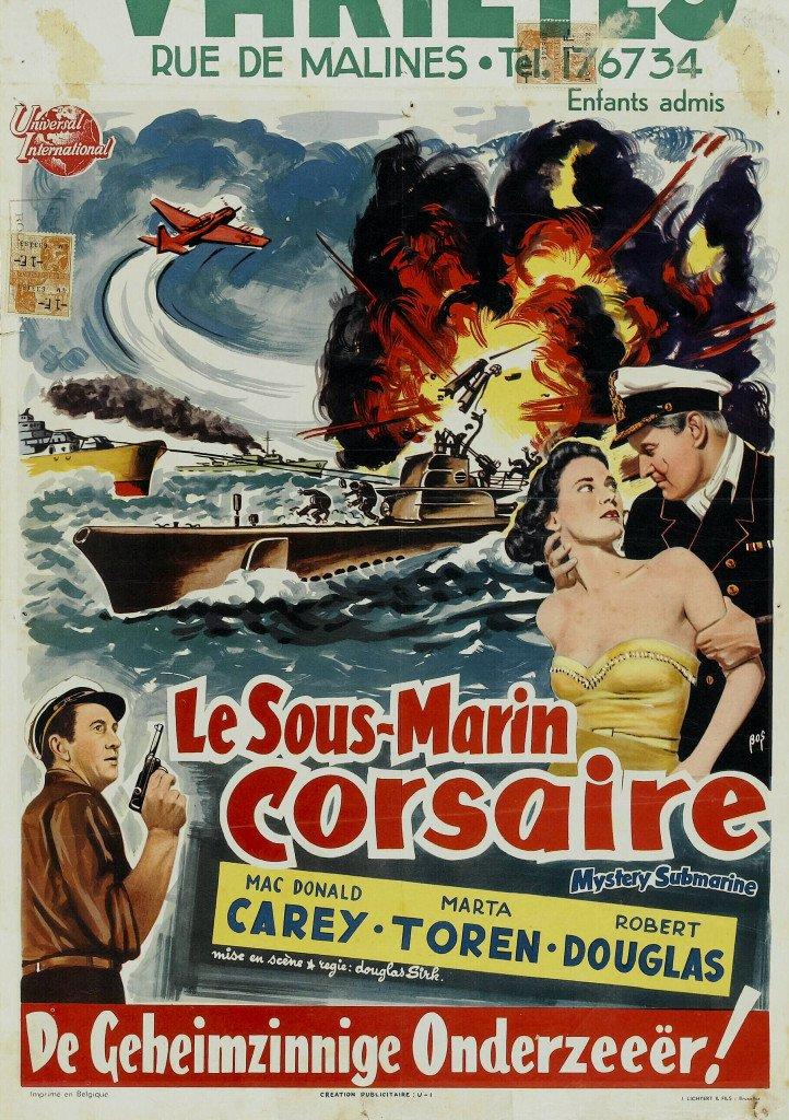 1950 Le Sous-marin mystérieux