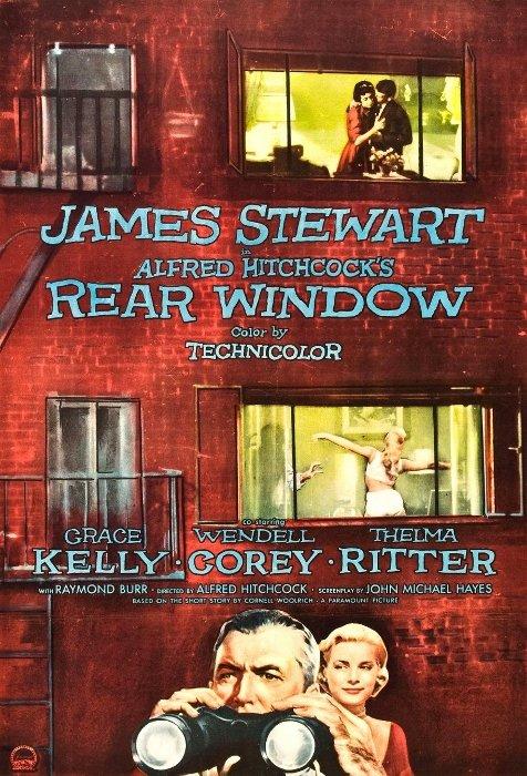 1954 Fenêtre sur cour