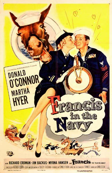 1955 Francis in the Navy