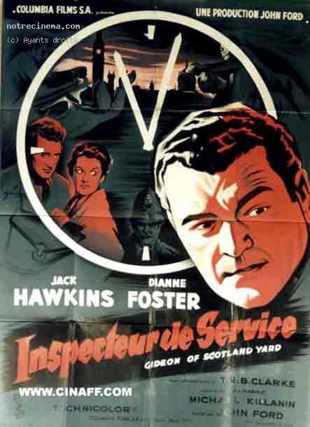 1958 Inspecteur de service