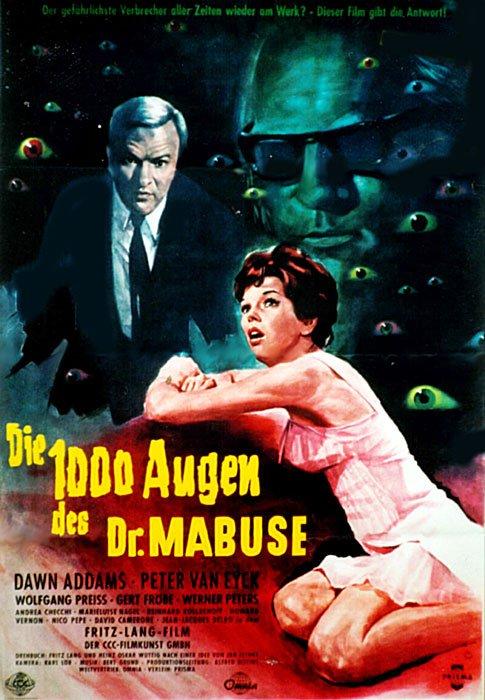 1960 Le diabolique Docteur Mabuse