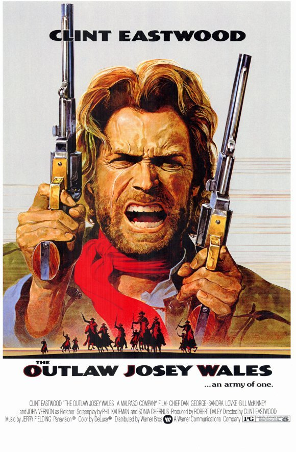 1976 Josey Wales Hors la loi