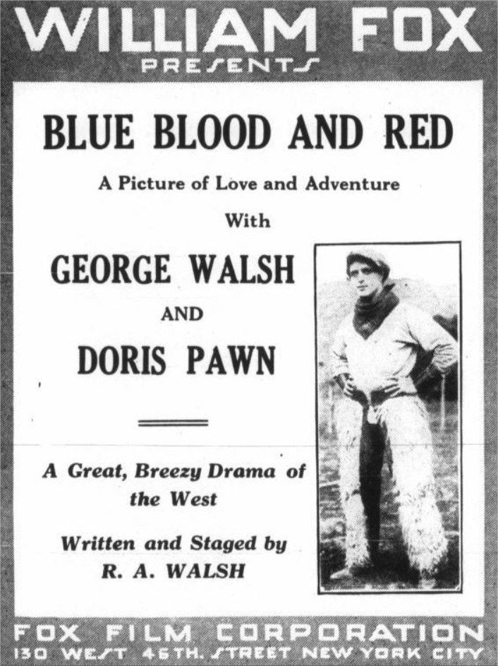 1916 Blue Blood and Red