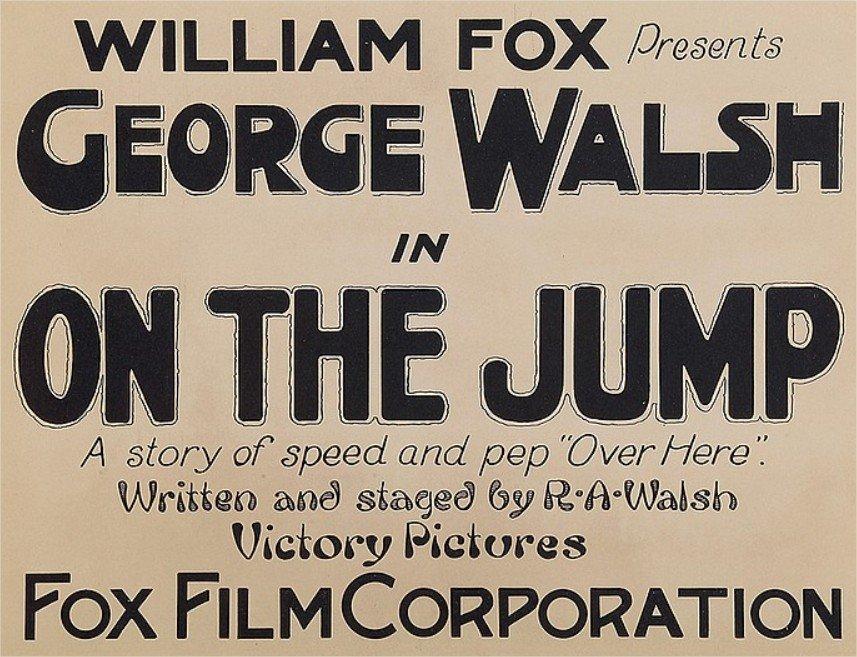 1918 On the jump