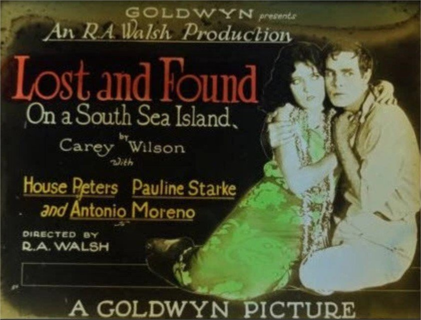 1923 Lost and found on a South Sea Island