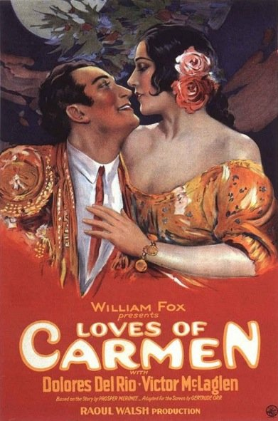 1927 The loves of Carmen