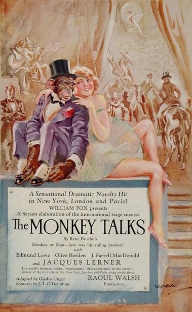 1927 The Monkey talks
