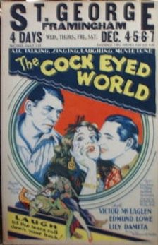 1929 The Cock-eyed world