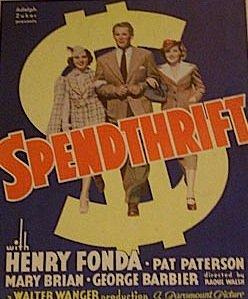 1936 Spendthrift
