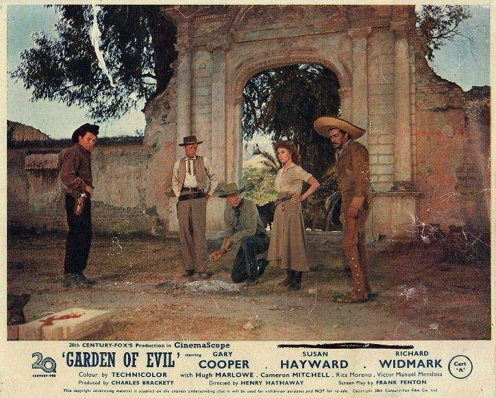Le Jardin du diable (Garden of Evil) – de Henry Hathaway – 1954 dans 1950-1959 le-jardin-du-diable