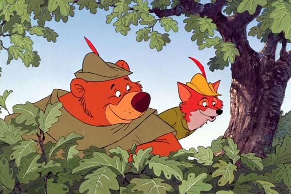 Robin des Bois (Robin Hood) - de Wolfgang Reitherman - 1973 dans 1970-1979 robin-des-bois-73