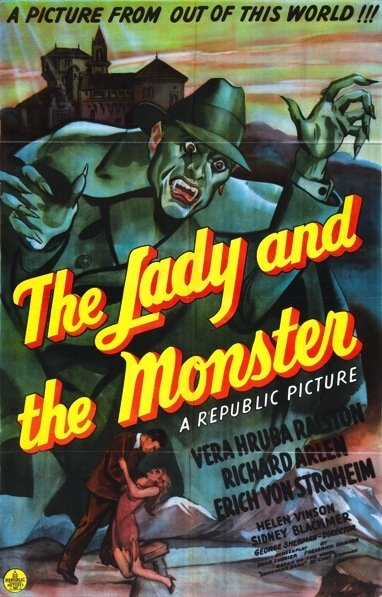 The Lady and the Monster aff