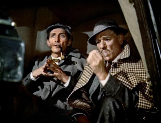 Le Chien des Baskerville (The Hound of the Baskerville) – de Terence Fisher – 1958 dans * Polars européens le-chien-des-baskerville