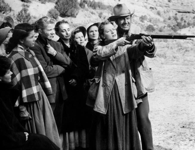 Convoi de femmes (Westward the Women) – de William A. Wellman – 1951 dans 1950-1959 convoi-de-femmes