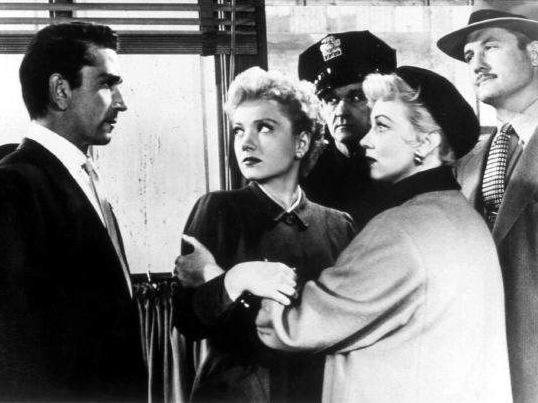 La Femme au Gardenia (The Blue Gardenia) – de Fritz Lang – 1953 dans * Films noirs (1935-1959) la-femme-au-gardenia