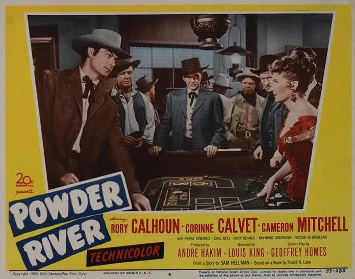 La Rivière de la poudre / Le Bar de la Vengeance (Powder River) – de Louis King – 1953 dans 1950-1959 la-riviere-de-la-poudre