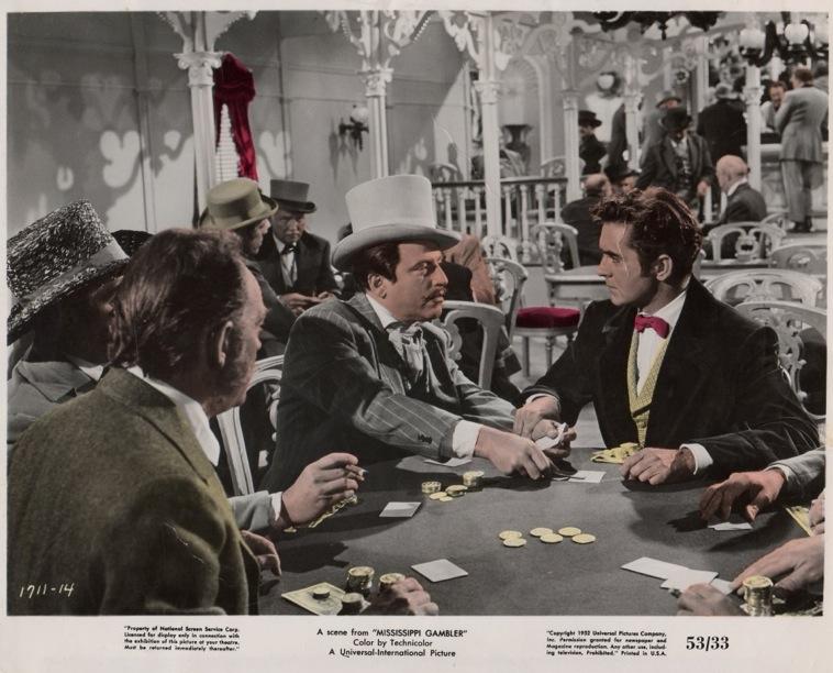 Le Gentilhomme de la Louisiane (The Mississippi Gambler) – de Rudolph Maté – 1953 dans 1950-1959 le-gentilhomme-de-la-louisiane