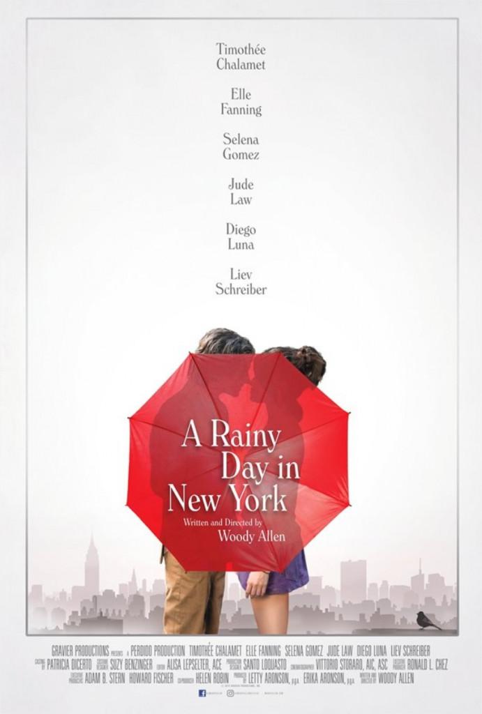 2019 Un jour de pluie à New York
