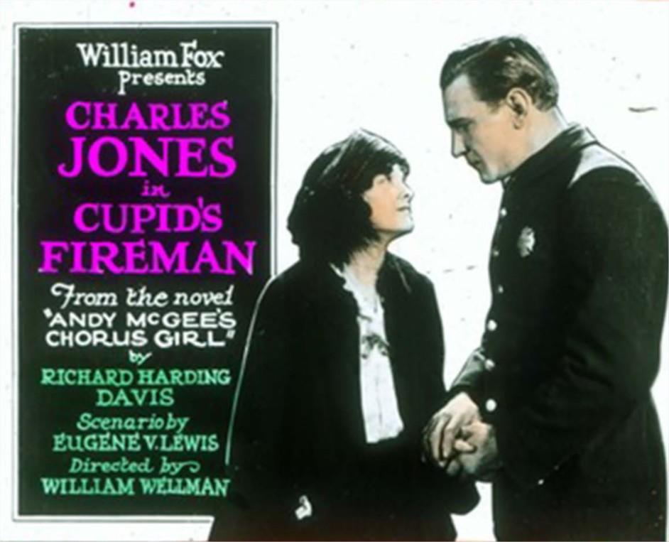 1923 Cupid's Fireman