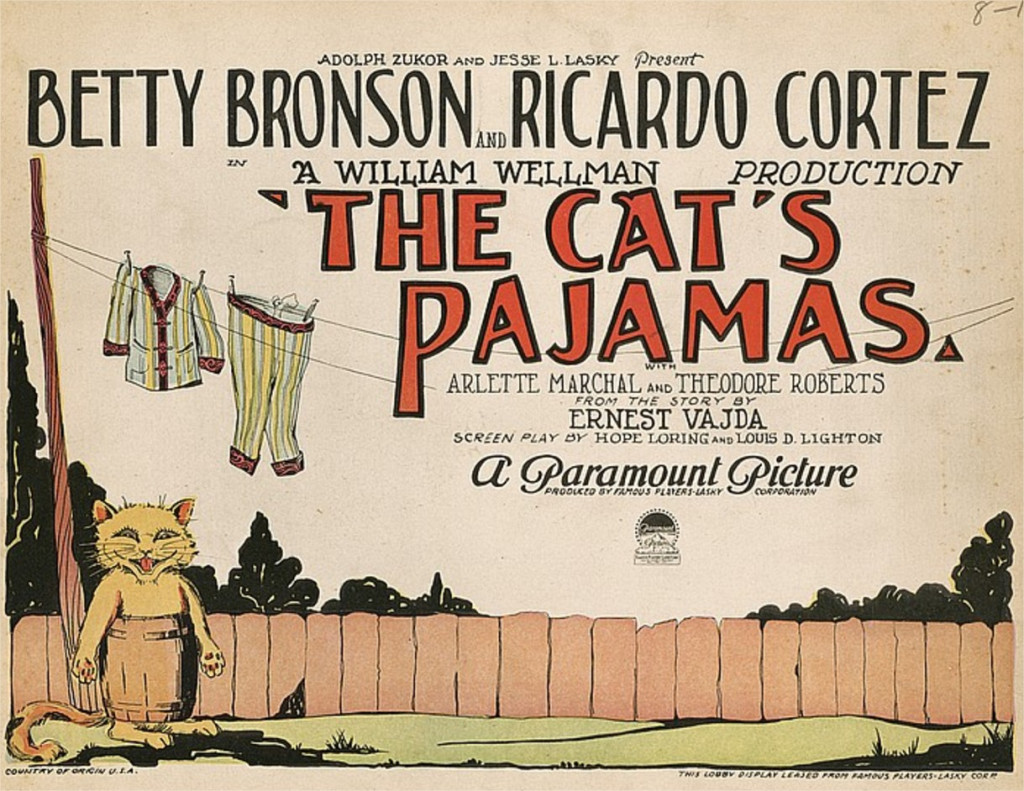 1926 The Cat's pajamas