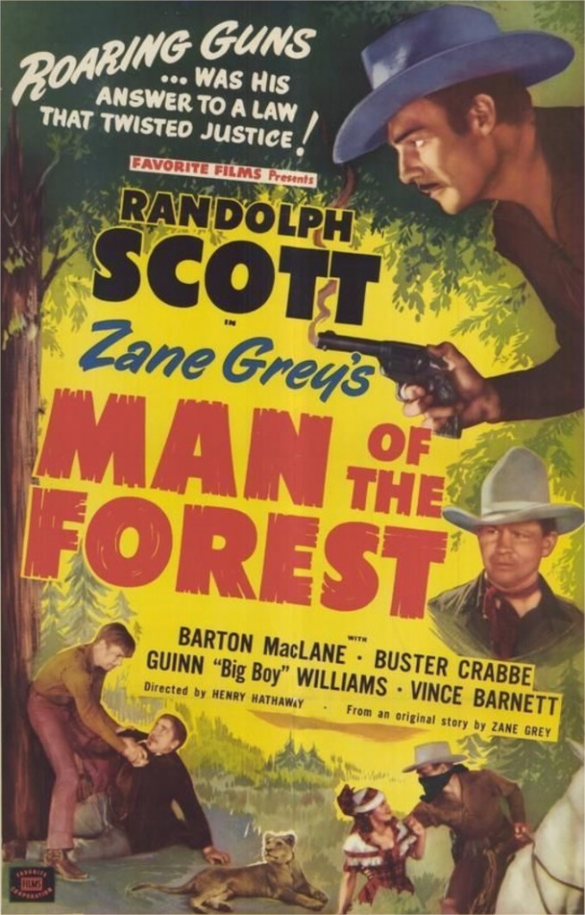 1933 Man of the Forest