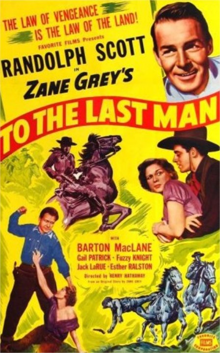 1933 To the Last Man
