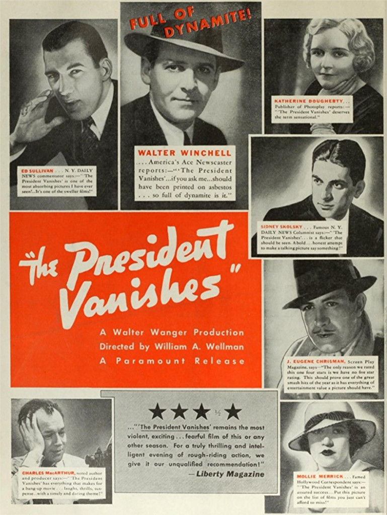 1934 The President Vanishes