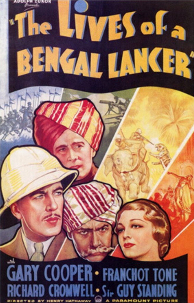 1935 Les trois lanciers du Bengale